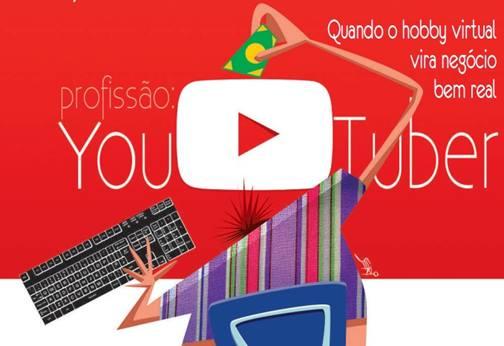 Profissão YouTuber! Quando o hobby virtual vira negócio.