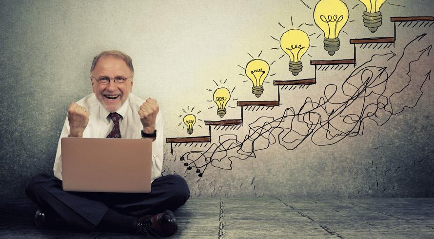 E o mercado de tecnologia está conhecendo novos negócios, conduzidos por novos profissionais: os maiores de 60 anos!