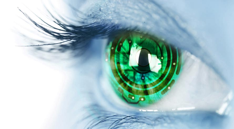 Lentes de contato que produzem realidade aumentada? Não é Black Mirror, já existe!