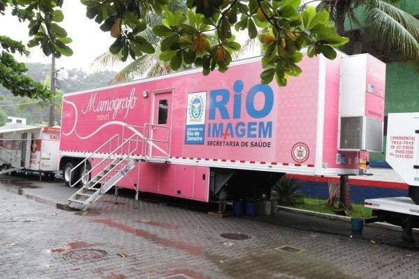 Serviços móveis de imagem registram 169 mil exames realizados no Rio