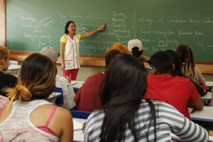Professores defendem melhoria na educação