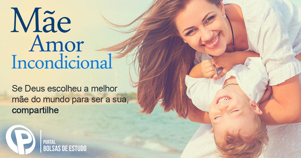 Mãe é mais que uma ligação maternal. É aquela que ensina, acolhe, inspira, educa ....