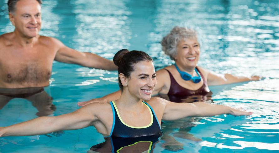 Correr na piscina: ótimo para a reabilitação ortopédica