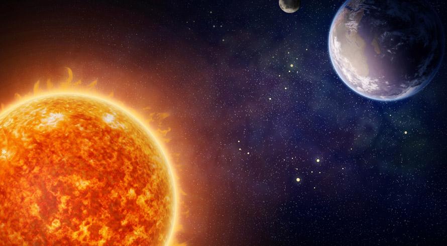 """E não é que a Ciência descobriu no espaço, bem longe daqui, uma """"irmã-gêmea"""" do nosso Sol?"""