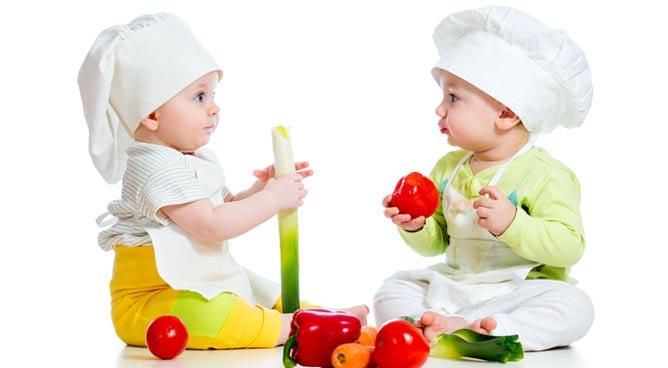 Alimentos que ajudam a recuperar nutrição de bebês