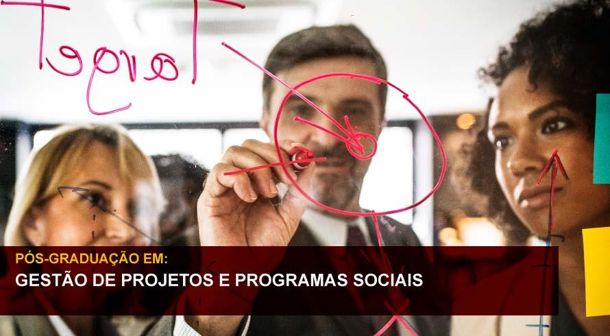 GESTÃO DE PROJETOS E PROGRAMAS SOCIAIS