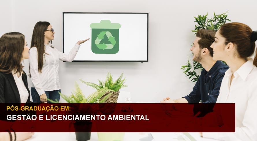 GESTÃO E LICENCIAMENTO AMBIENTAL