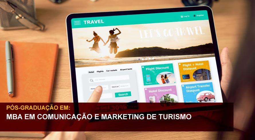 MBA EM COMUNICAÇÃO E MARKETING DE TURISMO