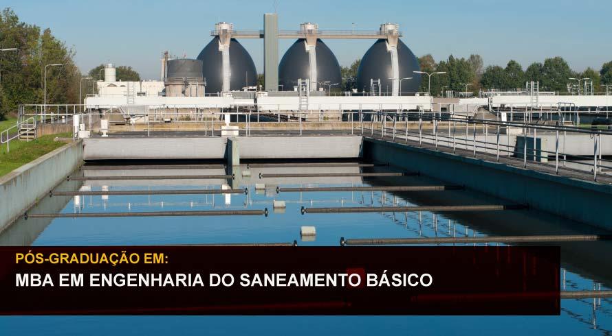 MBA EM ENGENHARIA DO SANEAMENTO BÁSICO