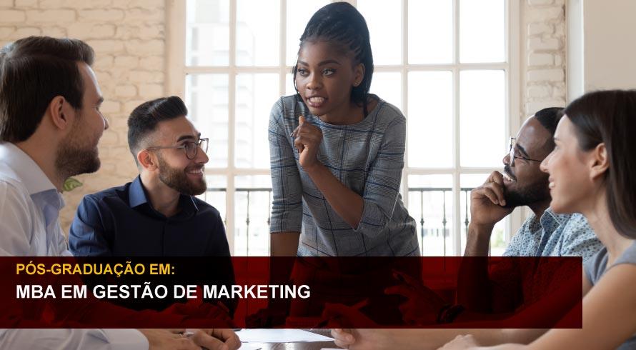 MBA EM GESTÃO DE MARKETING, NEGOCIAÇÃO E VENDAS
