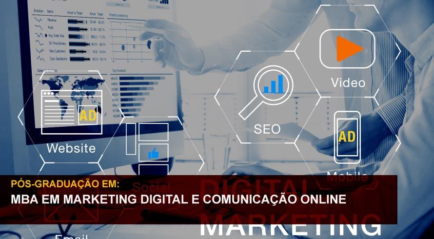 MBA EM MARKETING DIGITAL E COMUNICAÇÃO ONLINE
