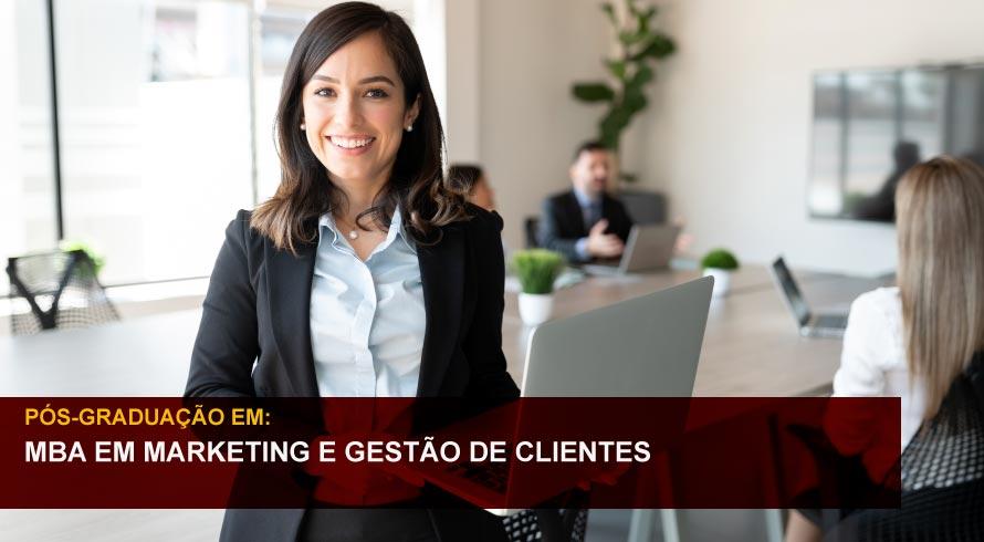 MBA EM MARKETING E GESTÃO DE CLIENTES