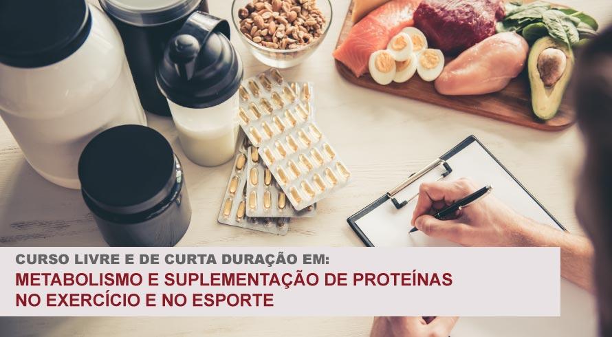 METABOLISMO E SUPLEMENTAÇÃO DE PROTEÍNAS NO EXERCÍCIO E NO ESPORTE