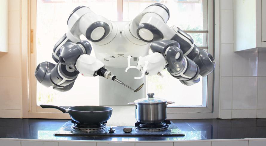 E se existisse um robô que, ao identificar uma risada, oferecesse comida? A Austrália já criou um e ele alimenta mesmo!