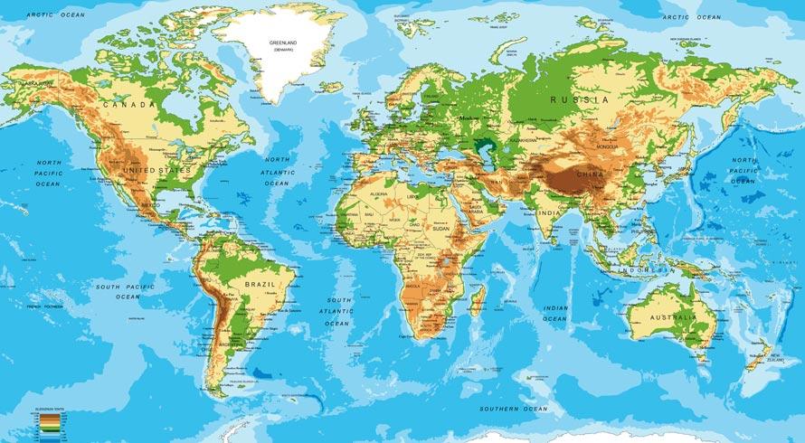 Sabe aquele mundo que você aprendeu a identificar no mapa, na época da escola? Ele tinha – e continua tendo – graves problemas de proporção territorial