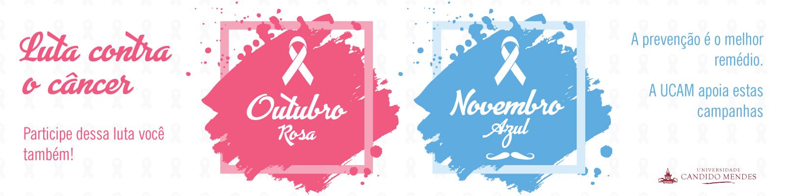 Banner Home Principal - Outubro rosa e Novembro Azul