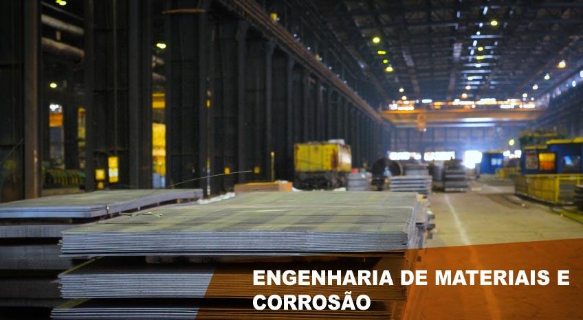 ENGENHARIA DE MATERIAIS E CORROSÃO