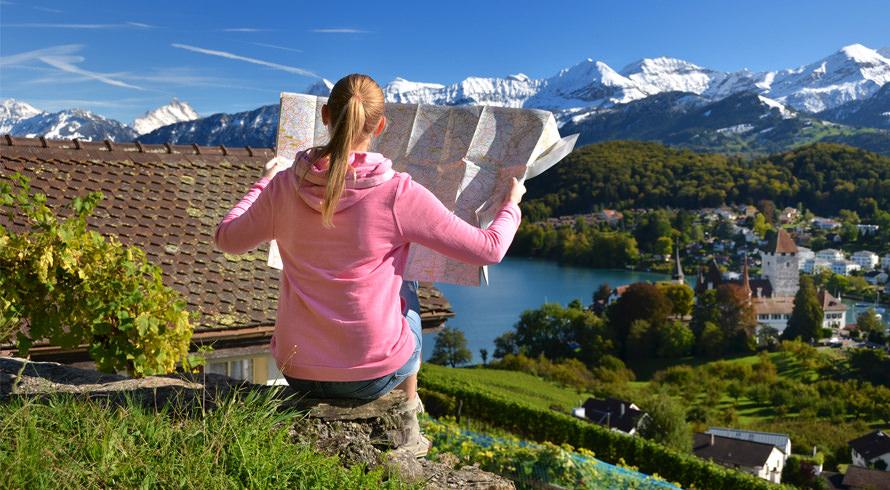 Sabia que existem diversas fronteiras de idiomas na Suíça? Ir ao país é receber um banho de cultura