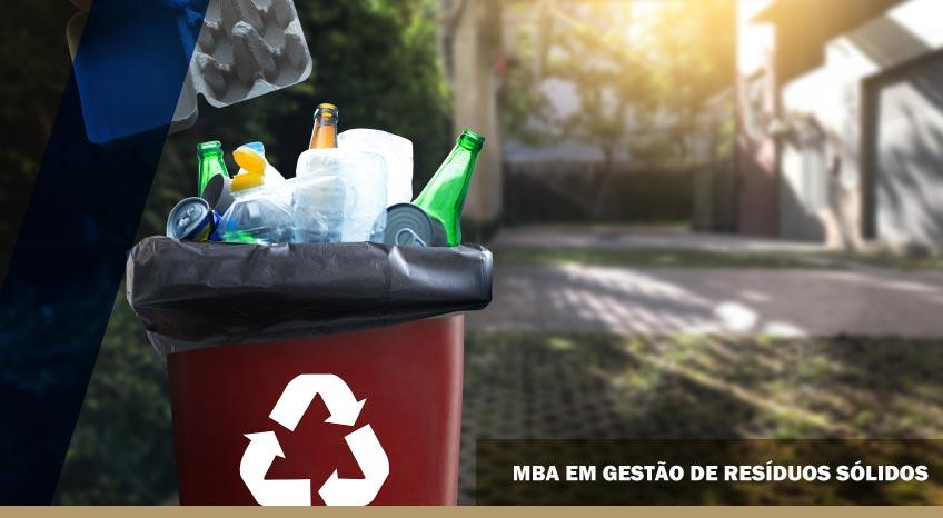 MBA EM GESTÃO DE RESÍDUOS SÓLIDOS