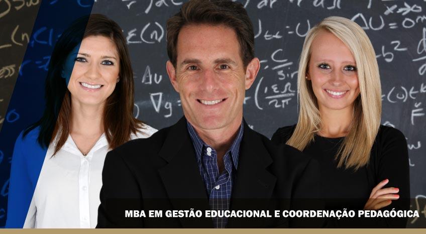 MBA EM GESTÃO EDUCACIONAL E COORDENAÇÃO PEDAGÓGICA