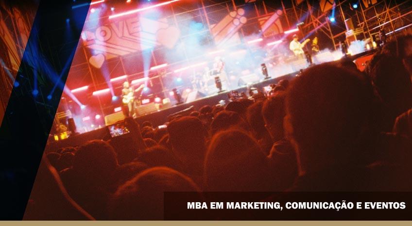 MBA EM MARKETING, COMUNICAÇÃO E EVENTOS