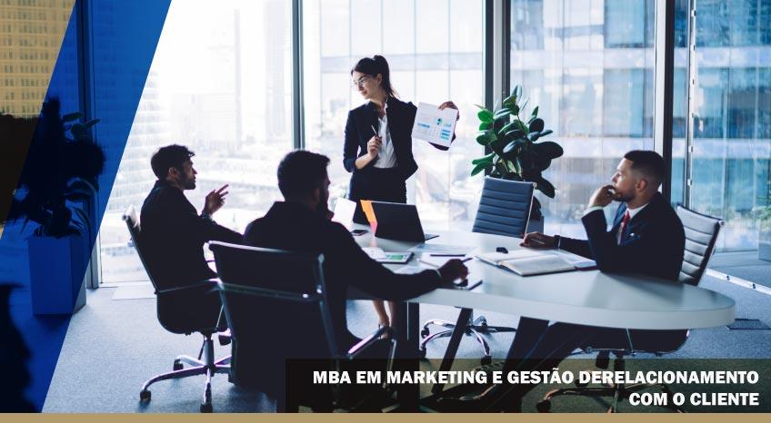 MBA EM MARKETING E GESTÃO DE RELACIONAMENTO COM O CLIENTE